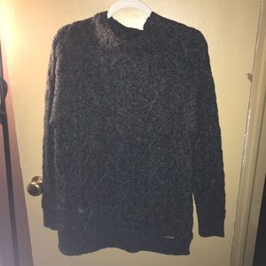 NWT Gray Michael Kors cableknit Sweater